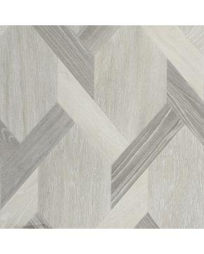 PVC LOFTEX 2172 Opera Grey - šedá mozaika parketová