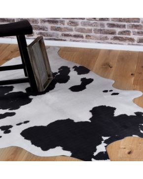 Kusový koberec Toledo 190 black white