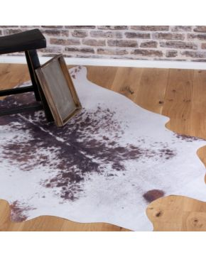 Kusový koberec Toledo 191 brown white